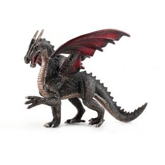 black dragon figurine