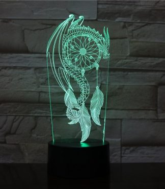 Dragon Led Light Dream Catcher