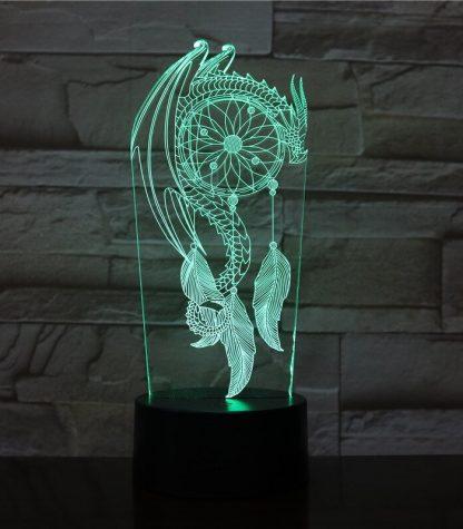 Dragon Led Light Dream Catcher