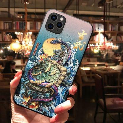 case iphone dragon