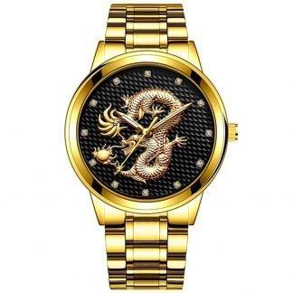 Ladies Dragon Watch