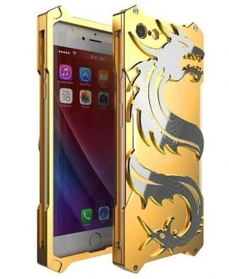 Steel Dragon iPhone Case