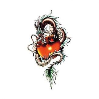 Temporary Dragon Tattoo Shenron