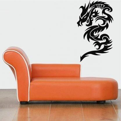 Dragon Sticker tribal