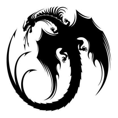 Wall Dragon Sticker
