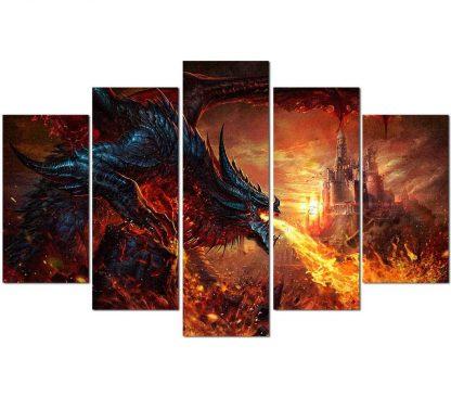 dragon canvas