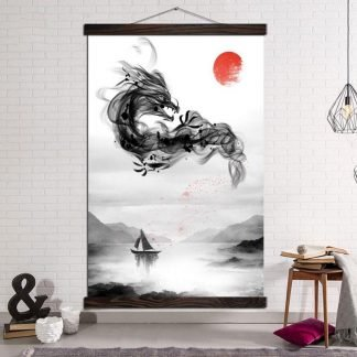 dragon canvas pictures