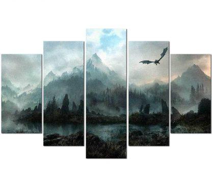 dragon canvas prints