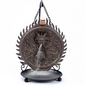 dragon incense burner guardian