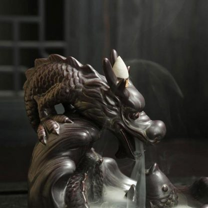 dragon incense head burner