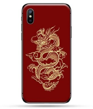 red dragon iphone xr case
