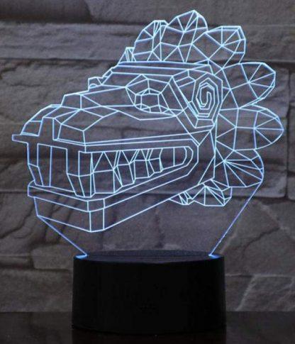 Dragon Led Light Head 3D
