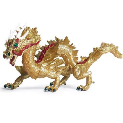 gold dragon figurine