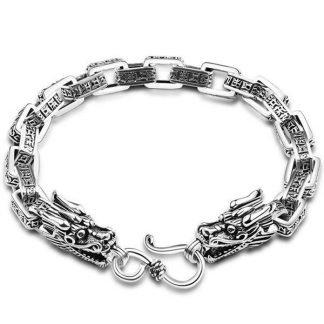 double dragon scale bracelet