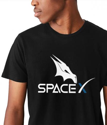 spacex dragon t shirt crew - Edited