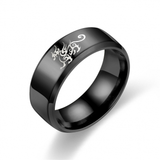 Asian Dragon Ring