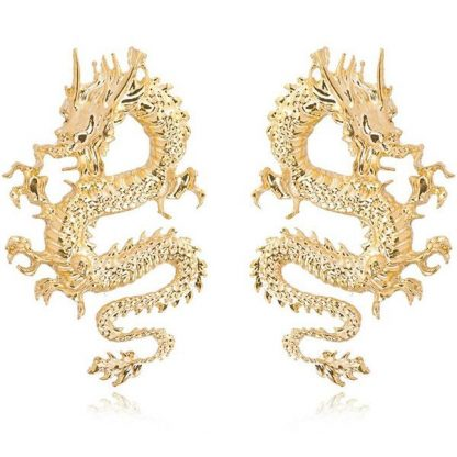 Chinese Dragon Earrings