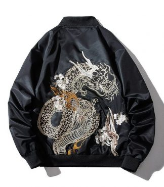 Chinese dragon jacket