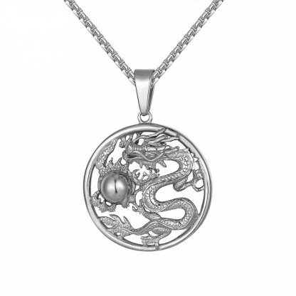 Chinese necklace Dragon