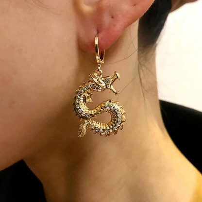 Dragon Earrings cool