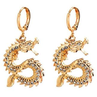 Cool Dragon Earrings