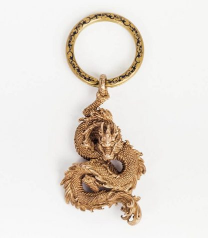 Copper keychain Dragon