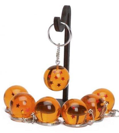 Crystal Ball Dragon Keychain