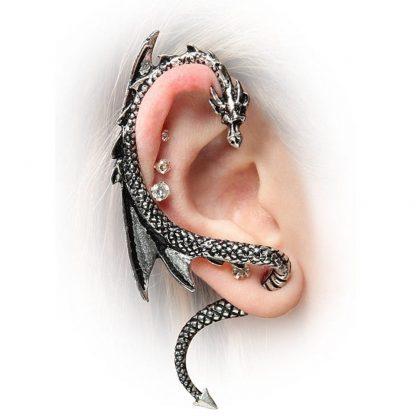 Dragon Earrings Cuff