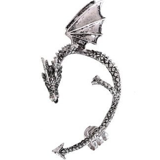 Dragon Earrings That Wrap Around The Ear