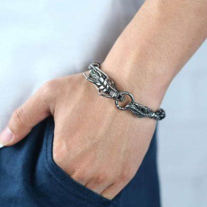 bracelet Dragon Head