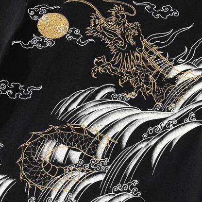 t shirt Dragon Koi