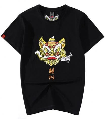 Dragon Lion T Shirt