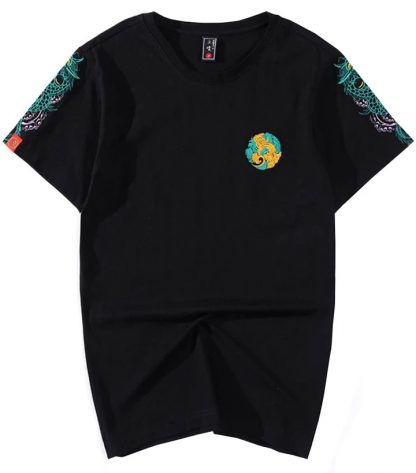 embroidered Dragon T-Shirt