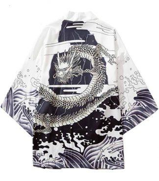 Dragon Waves Kimono