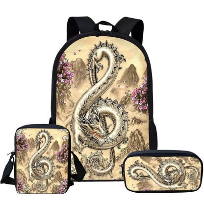 Dragon Backpack clef