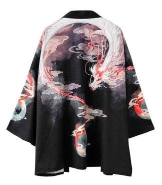 Japanese Dragon Kimono Streetwear