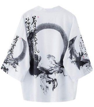 Japanese White Kimono
