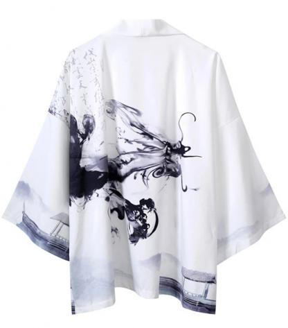 Men's Dragon Kimono Robe