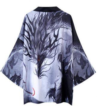 Modern Japanese Dragon Kimono