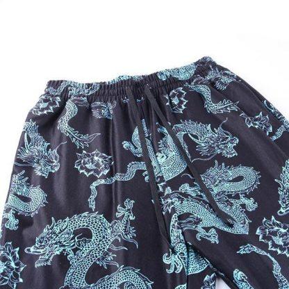 Pants design With Dragon