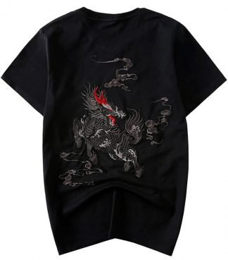 Qilin Chinese Dragon T-Shirt
