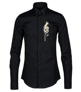 Shirt With Dragon Print