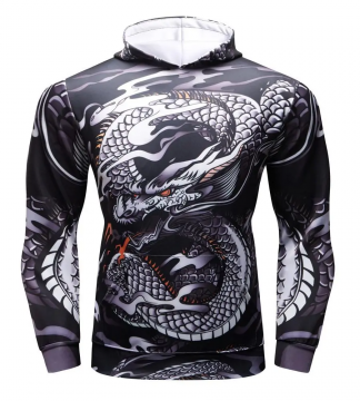 Sport Dragon Hoodie For Men