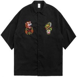 Tiger Dragon Chinese Shirt