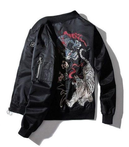 Tiger jacket Dragon