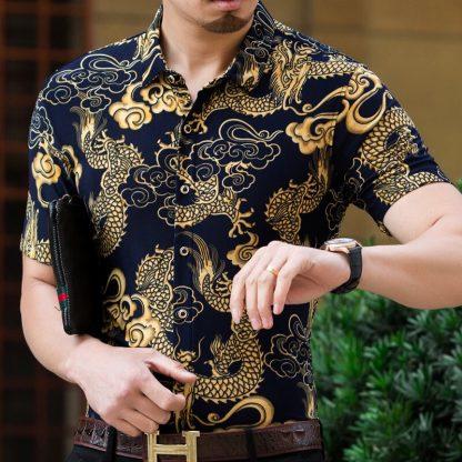 shirt Vintage Dragon