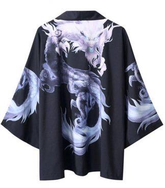 White Dragon Kimono