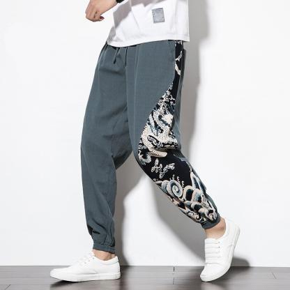 pants Oriental Dragon