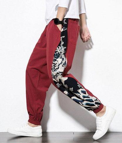 Oriental Dragon Pants