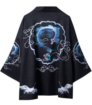 Blue Dragon Kimono